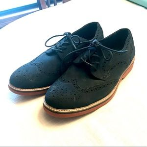 Blue Suede Oxford size 9.5 NEW